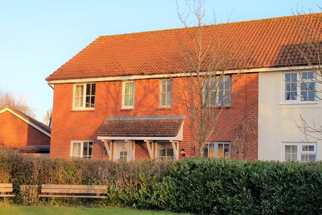 Thumbnail Terraced house for sale in Whiteway Close, Whimple, Exeter