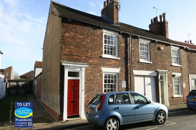 Thumbnail Terraced house to rent in Lairgate, Beverley