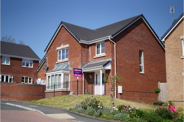 Thumbnail Detached house for sale in Heol Miaren, Llanharry, Pontyclun