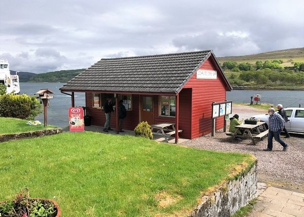 Restaurant/cafe for sale in Old Pier, Morvern, Scottish Highlands