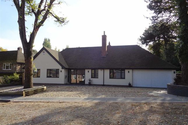 Thumbnail Detached bungalow for sale in Rectory Lane, Castle Bromwich Village, Solihull