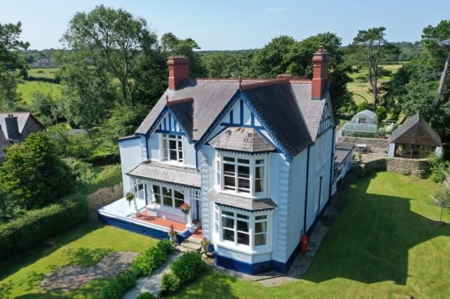 Thumbnail Detached house for sale in Llanallgo, Moelfre, Sir Ynys Mon, Anglesey