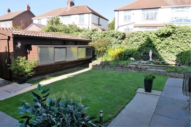 Rear Garden of King George Road, South Shields NE34