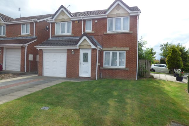 Thumbnail Detached house for sale in Arlington Grove, Cramlington