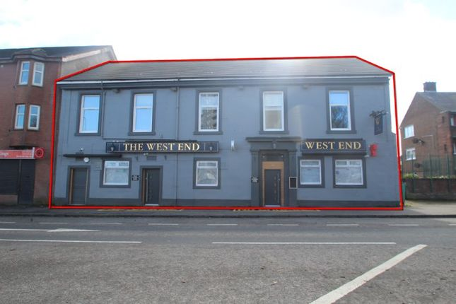 Thumbnail Commercial property for sale in 189, Bank Street, 33rd State Bar, Coatbridge ML51Ha