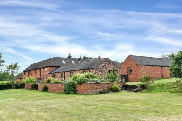 Barn conversion for sale in Gratwich, Uttoxeter, Staffordshire