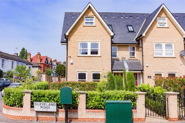 Thumbnail Town house for sale in Richmond Villas, Cleveland Road, South Woodford