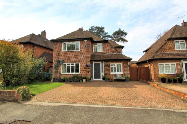 Thumbnail Detached house for sale in Lovelace Drive, Pyrford, Woking
