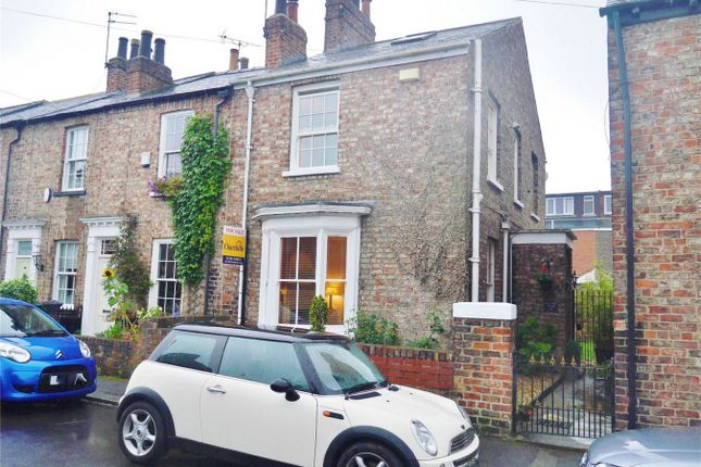 Thumbnail Semi-detached house for sale in Alma Terrace, Fulford Road, York