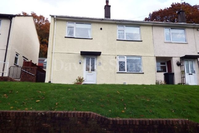 Thumbnail End terrace house for sale in Graig Wood Close, Newport, Gwent.
