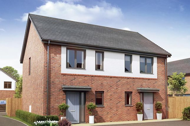 "Thumbnail Semi-detached house for sale in ""The Cranford"" at Garden House Drive, Acomb, Hexham"