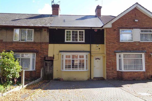 Thumbnail Terraced house for sale in Fordrough Lane, Bordesley Green, Birmingham
