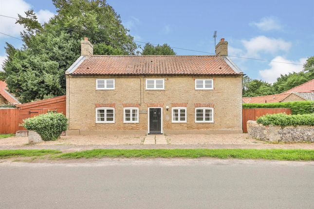 Thumbnail Cottage for sale in The Street, Beachamwell, Swaffham