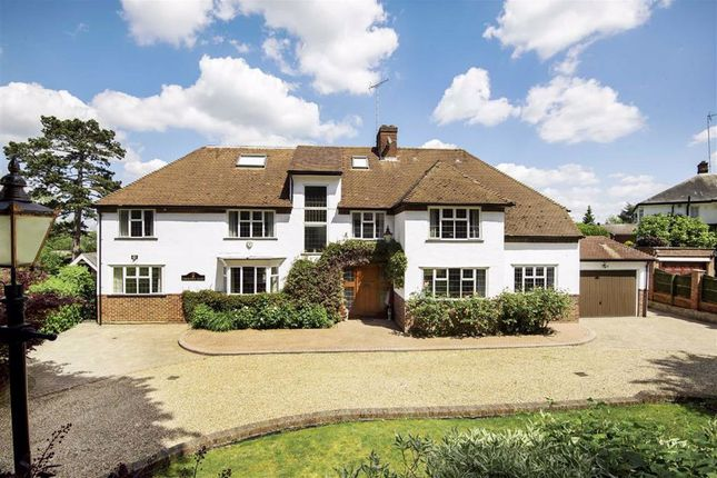 Thumbnail Detached house for sale in Crescent East, Hadley Wood, Hertfordshire
