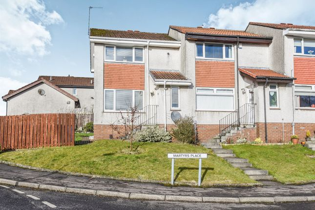 Thumbnail End terrace house for sale in Martyrs Place, Bishopbriggs, Glasgow