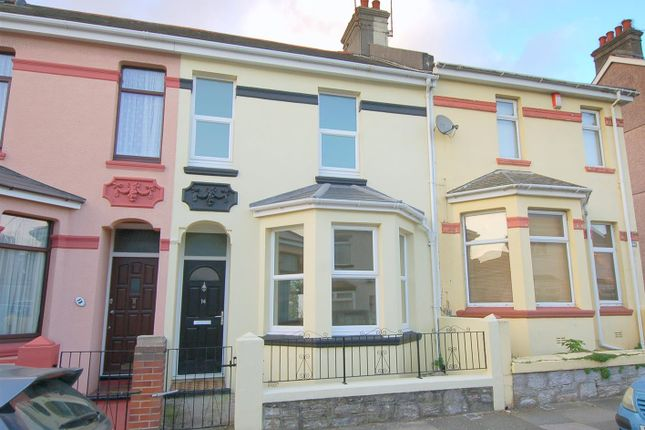 Thumbnail Terraced house for sale in Brunel Terrace, Plymouth
