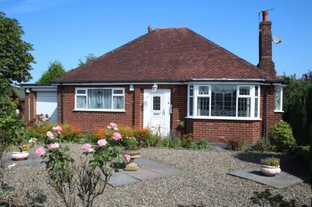 Detached bungalow for sale in Lytham Road, Fulwood, Preston