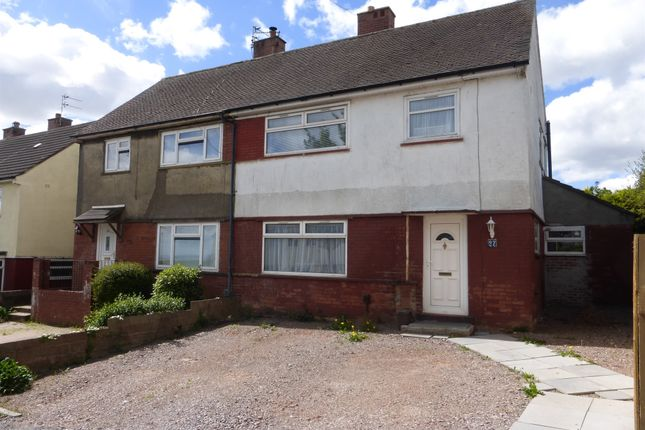 Thumbnail Semi-detached house for sale in Colwyn Road, Rumney, Cardiff