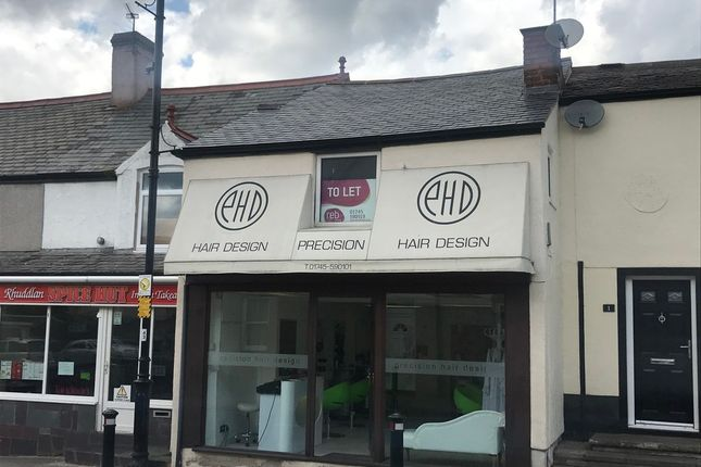 Thumbnail Flat to rent in High Street, Rhuddlan