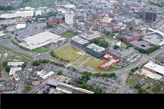 Thumbnail Land for sale in Warner Street, Stoke-On-Trent, Staffordshire