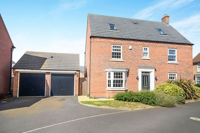Thumbnail Detached house to rent in Claudius Road, North Hykeham, Lincoln