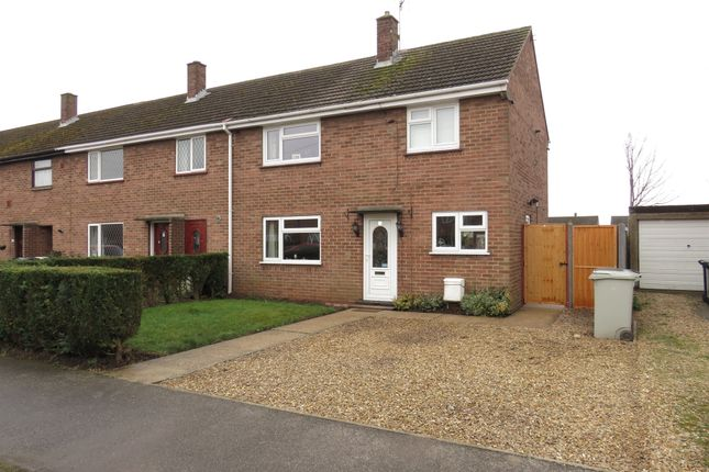 Thumbnail End terrace house for sale in Allen Road, Coningsby, Lincoln