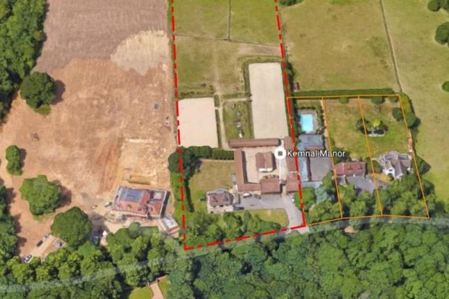 Thumbnail Land for sale in Kemnal Road, Chislehurst