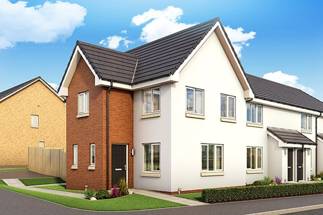 "Thumbnail 3 bedroom property for sale in ""The Fyvie"" at Torbeith Gardens, Hill Of Beath, Cowdenbeath"