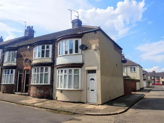 Front of Kindersley Street, Middlesbrough TS3