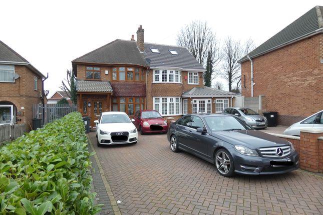 Semi-detached house in  Charles Road  Handsworth  Birmingham  Birmingham