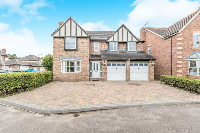 Thumbnail Detached house for sale in Radlow Crescent, Marston Green, Birmingham