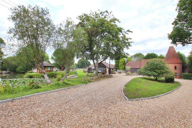 Thumbnail Equestrian property for sale in Hartfield Road, Edenbridge, Kent
