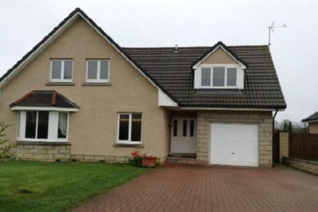 Thumbnail Detached house to rent in Green Meadows, Sauchen
