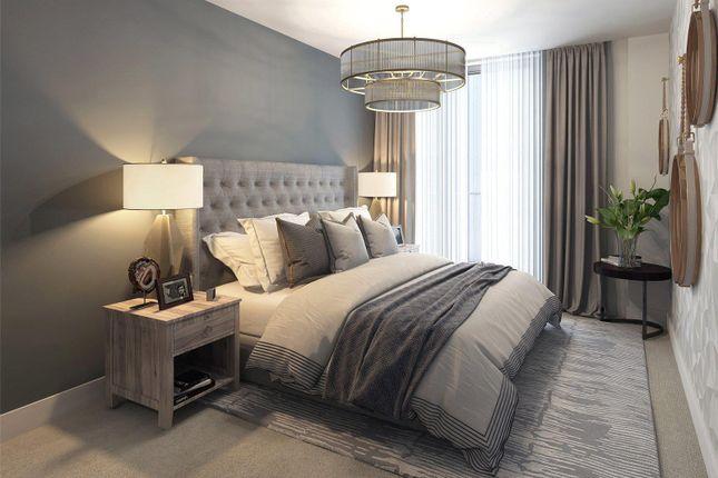 Bedroom 3- CGI of Bayside Apartments, Brighton Road BN11