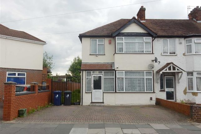 Thumbnail End terrace house for sale in Cornwall Avenue, Southall, Middlesex