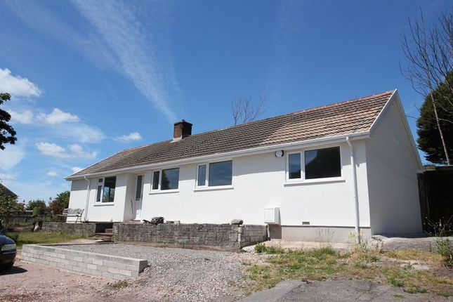 Thumbnail Detached bungalow for sale in Laura Street, Barry