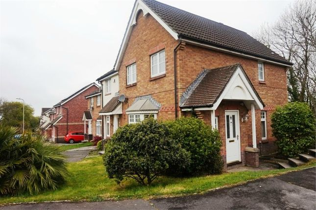 Thumbnail End terrace house to rent in Ton View, Kenfig Hill, Bridgend