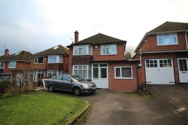 Link-detached house in  Grove Lane  Harborne  Birmingham  West Midlands  Birmingham