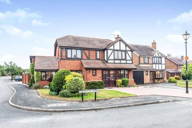 Thumbnail Detached house for sale in Essington Close, Shenstone, Lichfield, Staffordshire