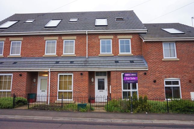 Thumbnail Town house for sale in Scot Hay Road, Newcastle