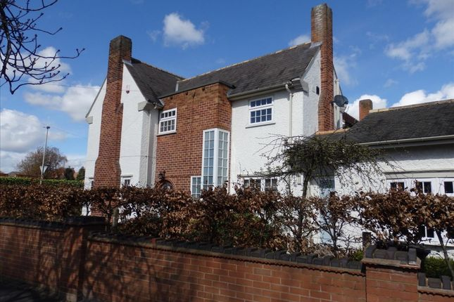 Thumbnail Detached house to rent in Glenfield Road, Western Park, Leicester