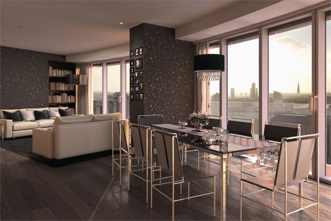Thumbnail Flat for sale in Baltimore Tower, Baltimore Wharf, Canary Wharf, London