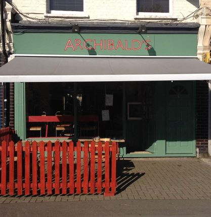 Thumbnail Restaurant/cafe for sale in Manor Lane, London
