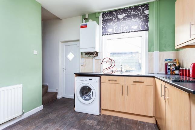 Kitchen of St. Georges Avenue, Blackburn, Lancashire, . BB2