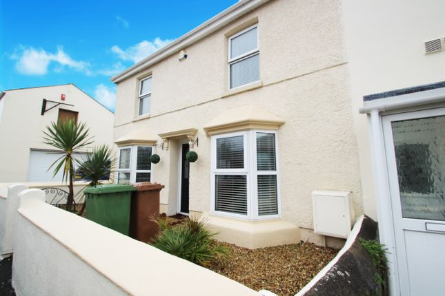 Thumbnail End terrace house for sale in Ernesettle Road, Plymouth