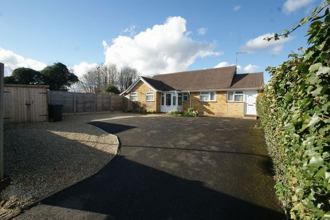 Thumbnail Detached bungalow for sale in Harrow Way, Andover