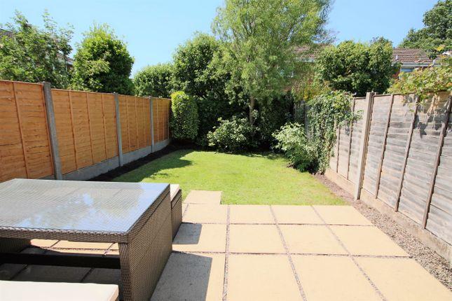 Rear Garden of Moor Avenue, Penwortham, Preston PR1