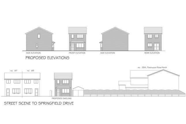 Photo 1 of Plot Of Land, Adjacent To 89 Springfield Drive, Thornton-Cleveleys FY5
