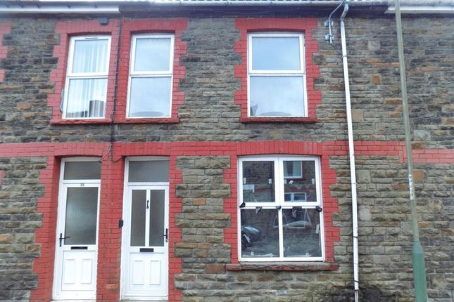 Thumbnail Terraced house to rent in Ilan Road, Abertridwr, Caerphilly