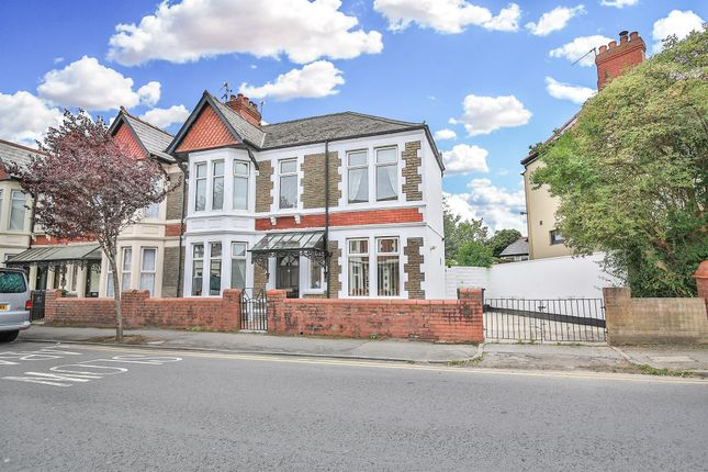 Thumbnail End terrace house for sale in Clodien Avenue, Heath, Cardiff